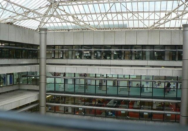 Birmingham Central Library interior