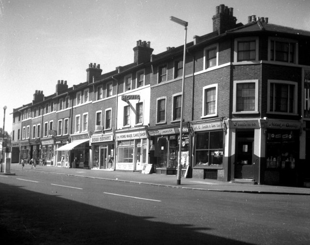 Shopping parade, Burnt Ash Road, Lee SE12