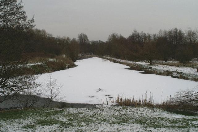 The Blackbrook Basin Terminus of the Sankey Canal