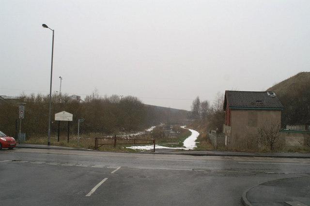 Gerards Bridge Branch of the Sankey Canal