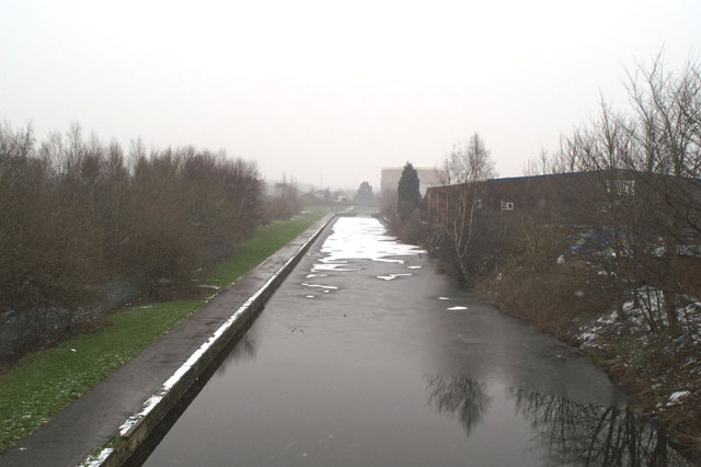 Restored Sankey Canal from Corporation Street