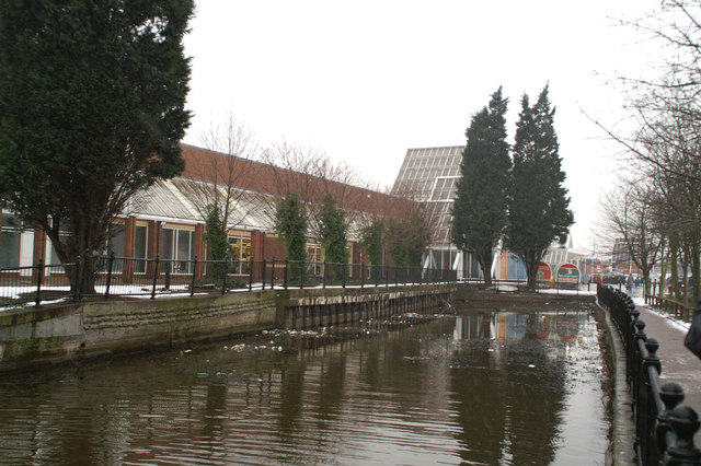 Terminus of the Sankey Canal