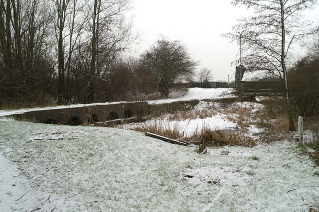 The Sankey Canal at Penkford Bridge