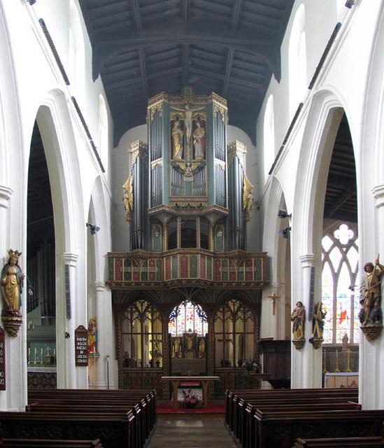 All Saints, Saint Ives, Cambridgeshire - East end