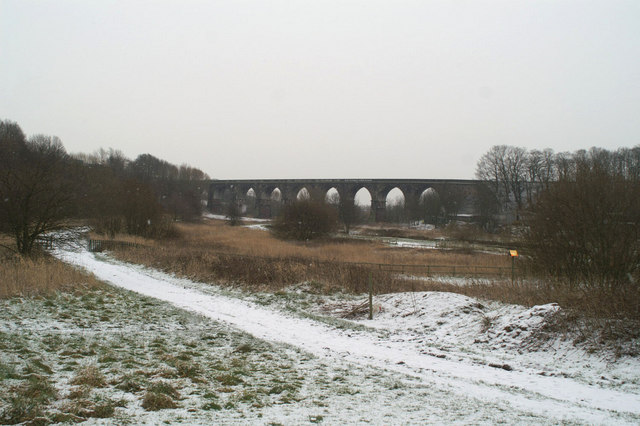 The Sankey Viaduct & the Sankey Canal