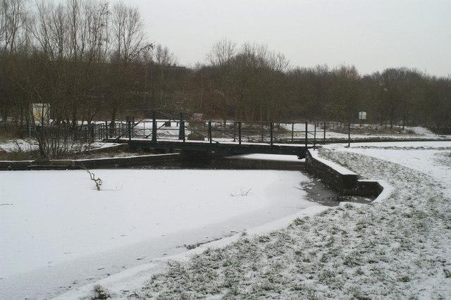 Bradlegh Swing Bridge from the North