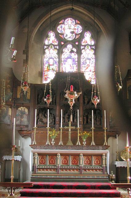 S Mary the Virgin Radwinter Essex - Chancel