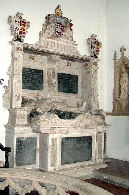 SS Peter & Paul, St. Osyth, Essex - Monument