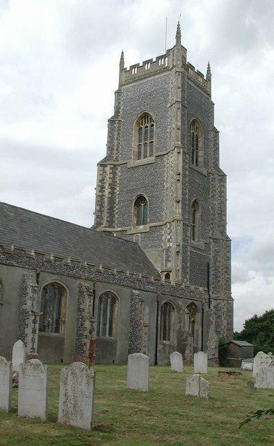 All Saints Brightlingsea Essex