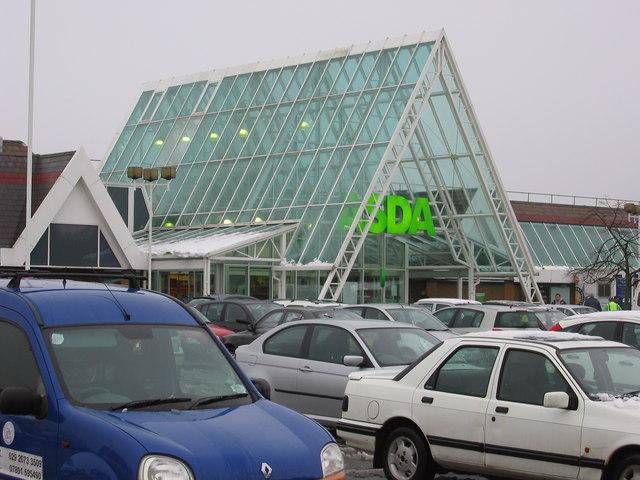 ASDA store Duffryn