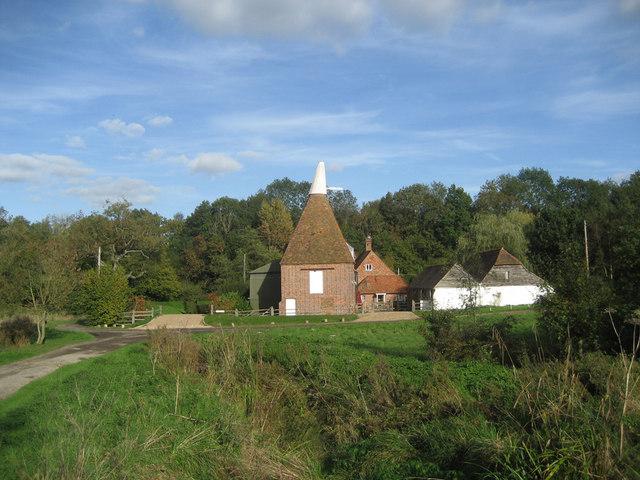 Oast House at Forge Farm, Bedgebury Road, Goudhurst, Kent