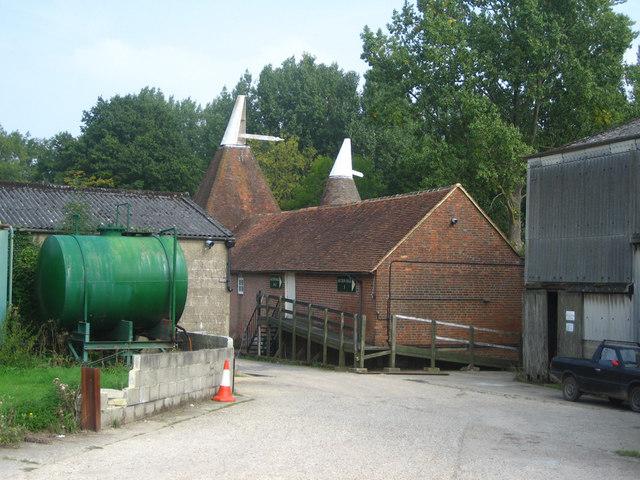 Oast House at Forstal Farm, Goudhurst Road, Lamberhurst, Kent