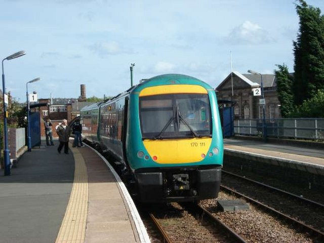 Train at Longton Station