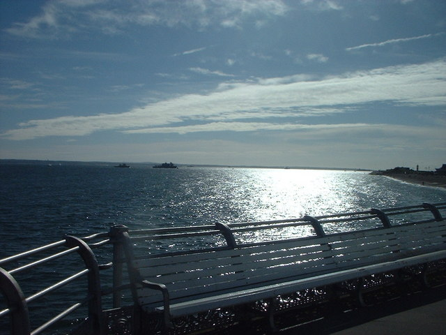 View from South Parade Pier