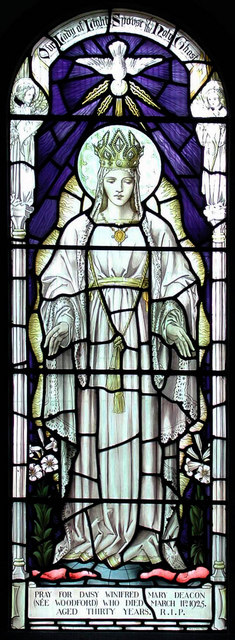 Our Lady of Light & S. Osyth, Clacton, Essex - Window