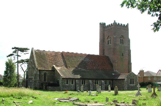 All Saints, Great Holland, Essex
