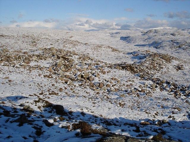 Allt na Claise Carnaich valley