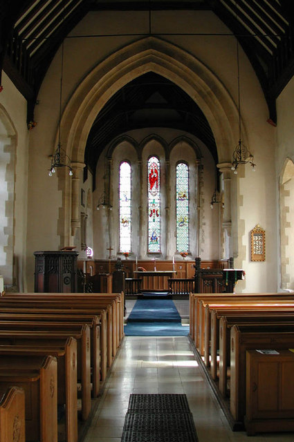 St Augustine of Canterbury Birdbrook Essex - East end