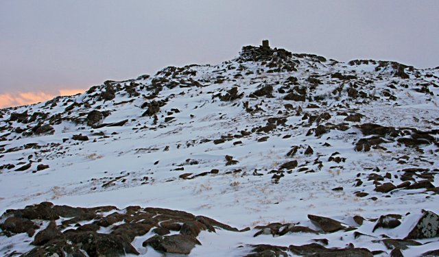 Summit of Meall Gorm