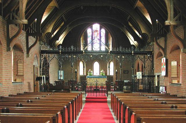 St Nicholas, Kelvedon Hatch, Essex - East end