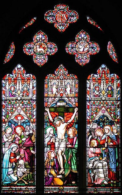 St Germain, Bobbingworth, Essex - East window