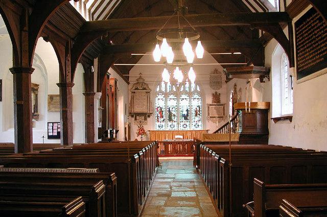 All Saints, Theydon Garnon, Essex - East end