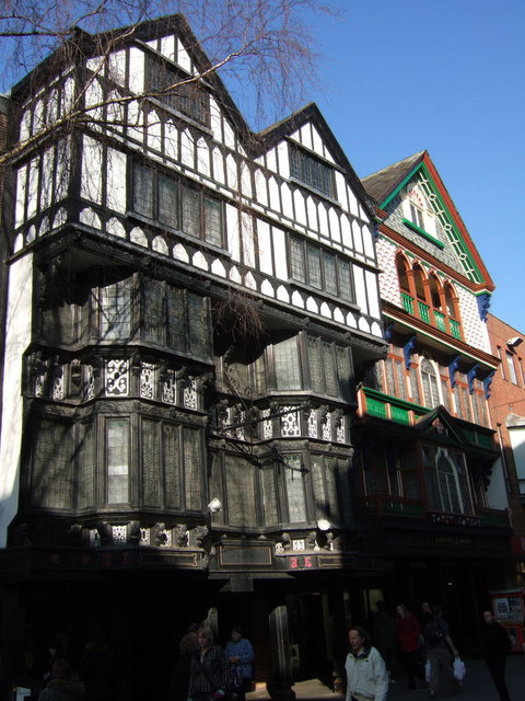 Merchants' houses, Exeter High Street