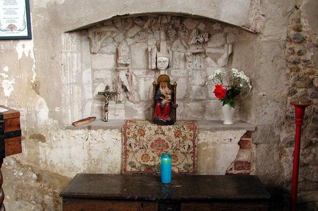 St John the Baptist, Thaxted, Essex - Shrine