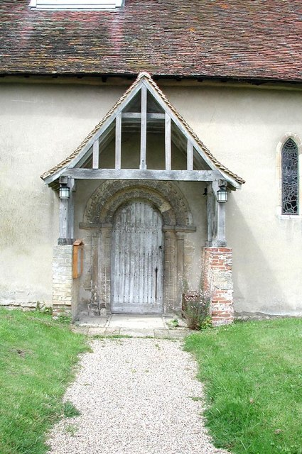 All Saints, Middleton, Essex - Porch