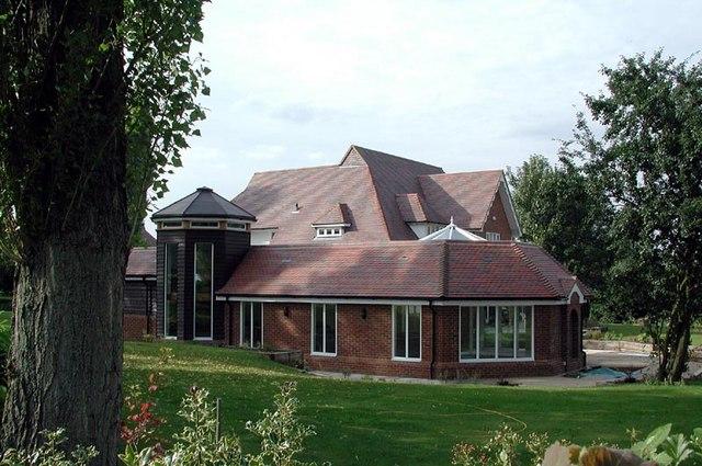 House near church, Little Bardfield, Essex