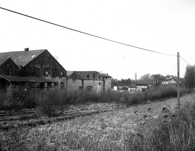 Old iron foundry near Trench Lock, Shropshire