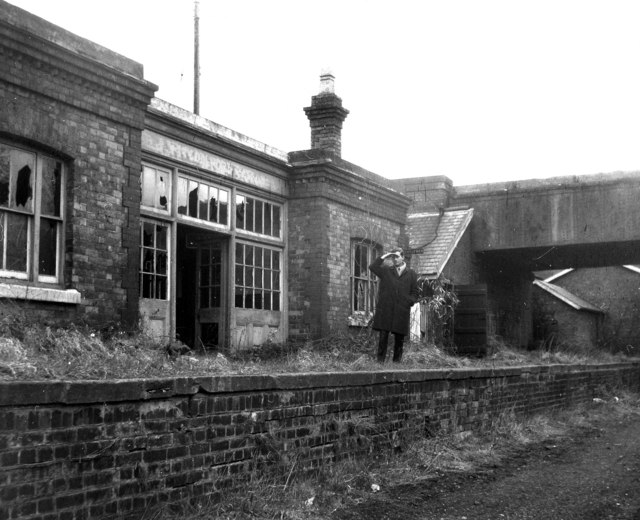 Coalport East railway station, Shropshire