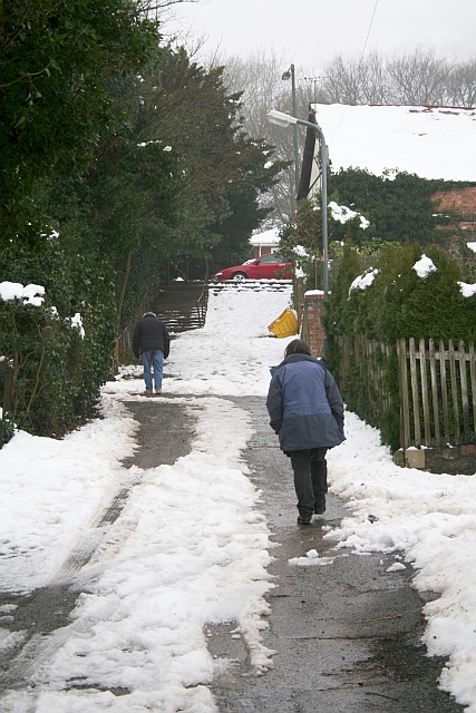 Climbing Richmond's Pitch in the February Snow