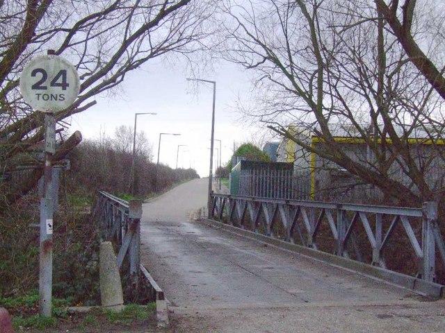Entrance to Warner's Bridge Park