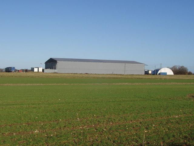 Old aircraft hangar