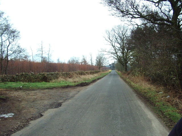 The road to Armathwaite
