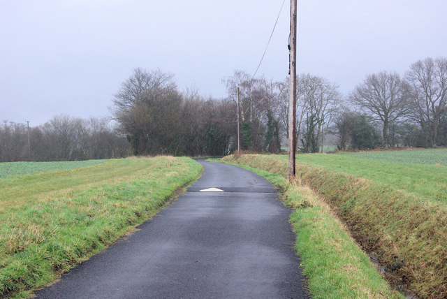 Bridleway with Speed-bump