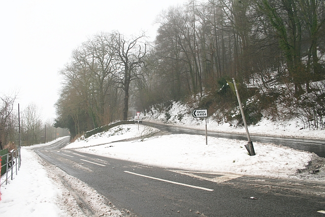 Start of the A4104, Little Malvern