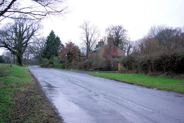 Cottages by Little Allfields Farm