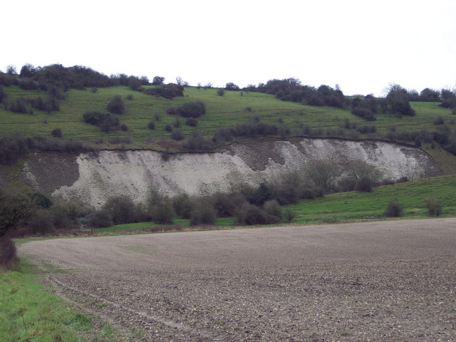 Disused Chalk Pit at Fovant Hollow