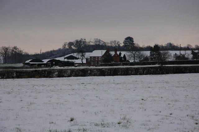 Dunstall Farm in Winter