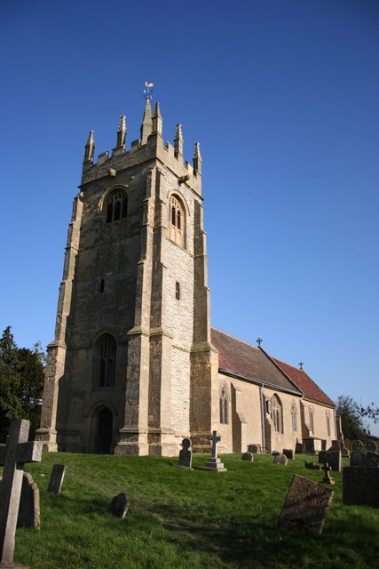 St.Peter's church, Upton