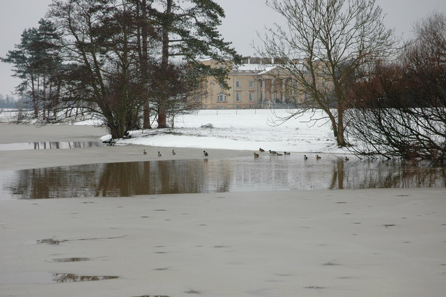 Croome Park in winter