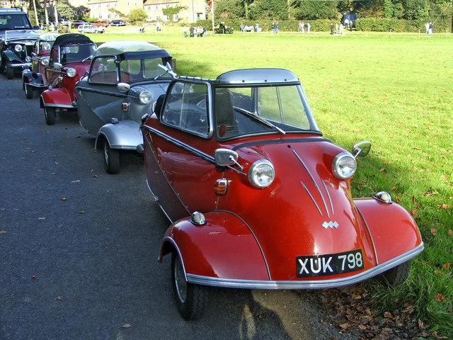 Messerschmitts at Staplefield, East Sussex
