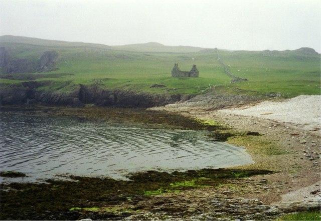 Funzie Bay, Fetlar