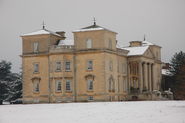 Croome Court in winter