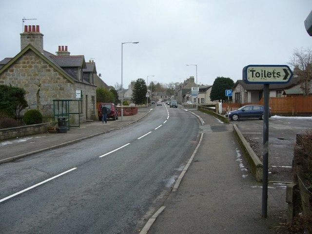 Longside, Main Street