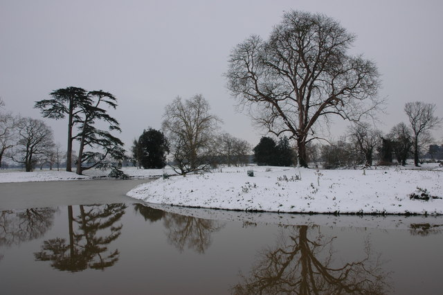 Croome Landscape Park in Winter