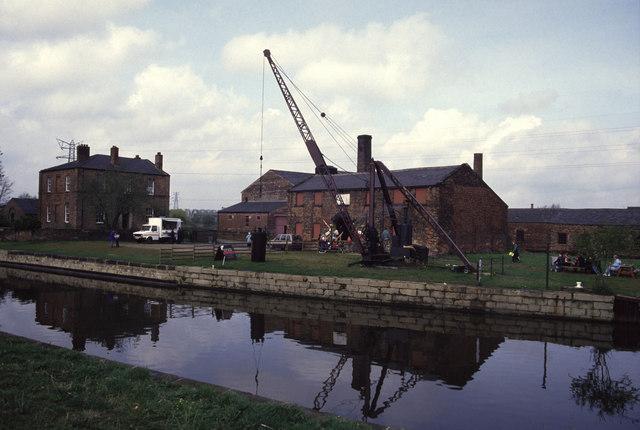 Thwaite Putty Mills, steam day.
