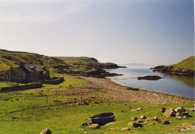 Isolated croft  at Nibon, North Mainland